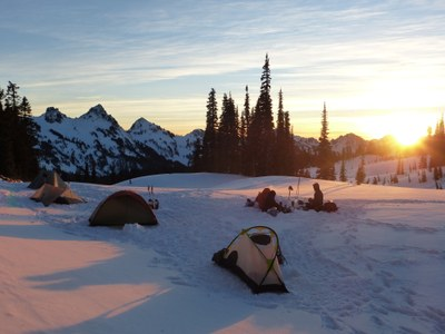 Winter Camping Course - Foothills - 2016