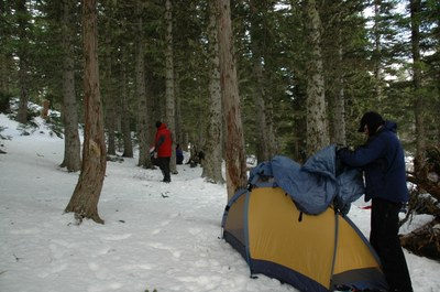 Winter Camping Field Trip  - Lake Angeles