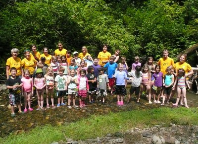 Kitsap Forest Adventure Camp - Week 2- 2014