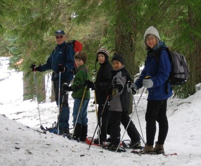 Snowshoe Trek and Lunch (L) - Meany Lodge