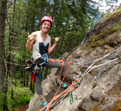 Introduction to Leading on Bolted Routes Field Trip - McCleary Cliffs