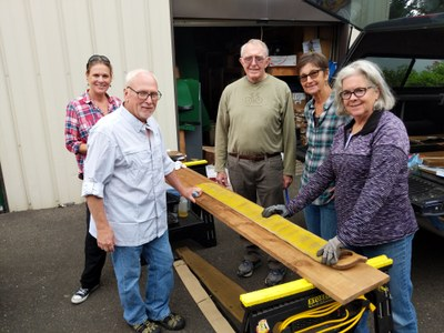 Crosscut Saw Practice and Development - Lacey Community Center