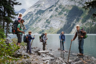 Olympia Explorers Backpacking