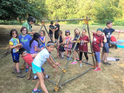 Summer Camp - Wilderness Adventure Week - Olympia - 2019