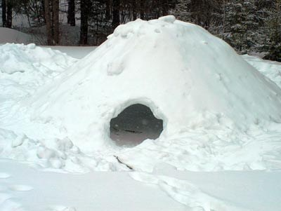 Olympia Pathfinders Snow Shelters