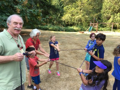 Lashing, Knots, & Shelter Building