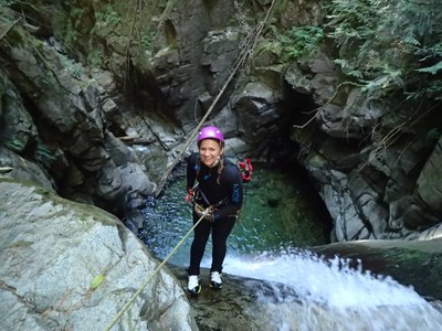 Waterfall Canyoning Course - The Mountaineers - 2019
