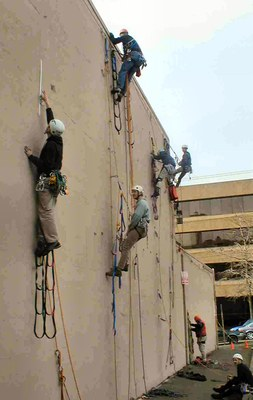 Introduction to Aid Climbing Seminar - Seattle - 2015