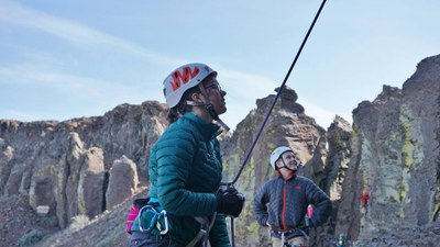 Seattle Basic Climbing Lecture #1 - Course Introduction, Top-rope Belay/Lower, & Rope Ascending - Mountaineers Seattle Program Center