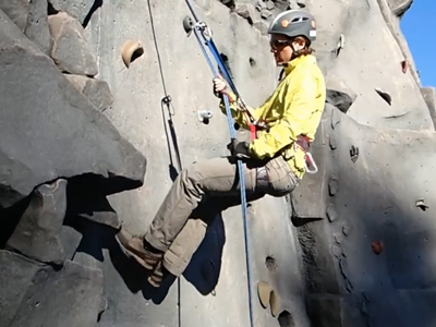 Basic Glacier Travel Field Trip -  Rappels Part 1 - Mountaineers Seattle Program Center