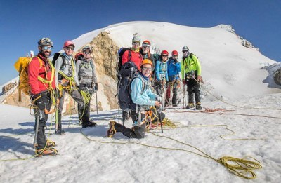 Basic Glacier Travel Field Trip -  Rappels Part 1