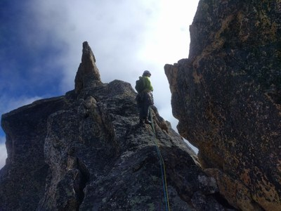 Introduction to Multi-Pitch Trad A - Seattle - 2019