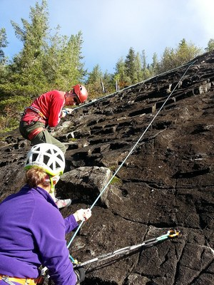 Introduction to Rock Climbing Course - Seattle - 2016