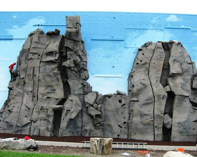 South Climbing Wall — The Mountaineers