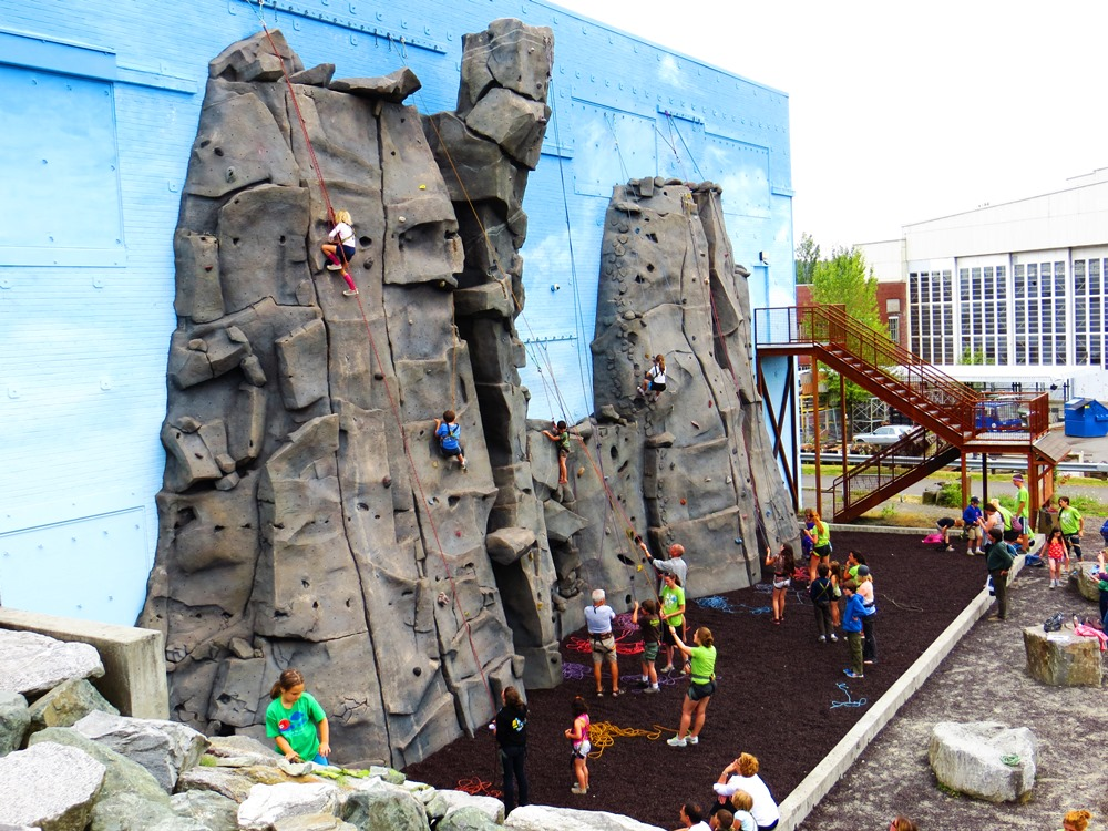 Climbing Walls — The Mountaineers