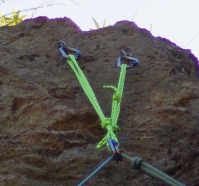 Seattle Basic Climbing Refresher Clinic - Top Rope Anchor Building