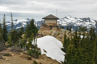 CHS 1 Hike - Alpine Lookout/Round Mountain