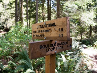 CHS 1 Hike - Little Si & Boulder Garden Loop