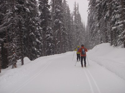 Introduction to Cross-country Skiing - One Day - Seattle - 2015