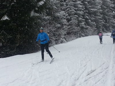Introduction To Skate Skiing - Seattle - 2015
