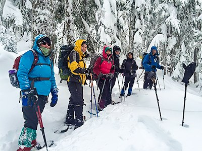 Basic Snowshoeing Equivalency Field Trip - Pod Version