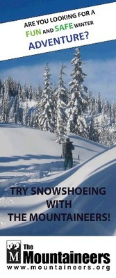 Backcountry Snowshoe Skills Course - Seattle - 2014