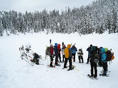 Basic Snowshoe Instructor Clinic Field Trip
