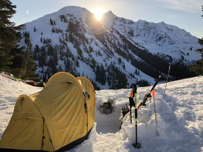 Seattle Snowshoe Winter Camping Lecture - Online Classroom