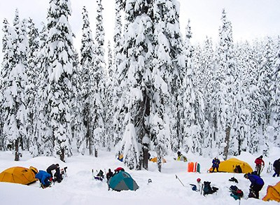 Winter Camping Course - Seattle - 2016