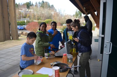Aki Kurose Special Education - Outdoor Cooking - Mountaineers Seattle Program Center