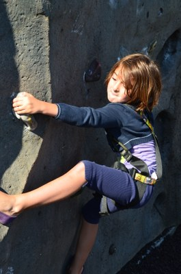 Aki Kurose Special Education - Climbing