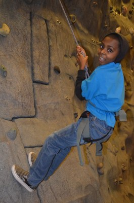 North Seattle Boys and Girls Club - Climbing