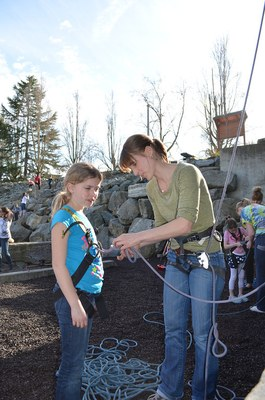 Mountain Workshop - Girl Scouts - The Mountaineers - 2014