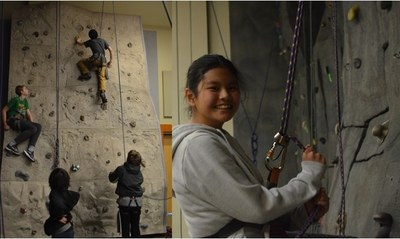 Jane Addams Middle School - Climbing