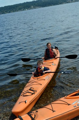 Middle College High School - Kayaking