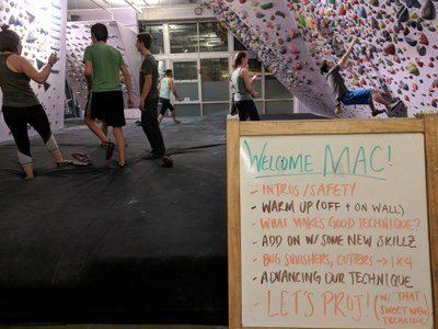 Seattle MAC - Bouldering