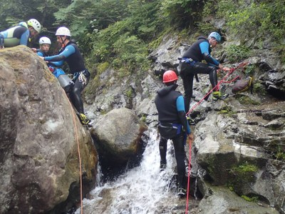 Seattle MAC - Canyoning Field Trip