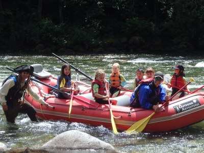 Outdoor Adventure Center - Rafting Field Trip