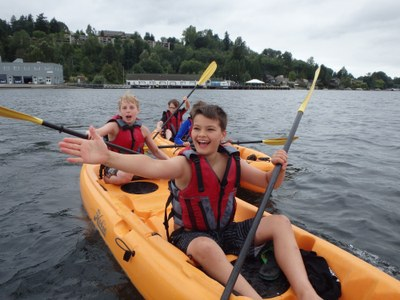 Summer Camp - Wind and Waves Week - Seattle - 2021