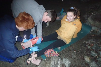Wilderness First Aid for Teens and Youth Club Parents