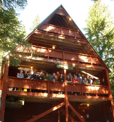 Stevens Lodge PCT Stay - Tue, 9/3