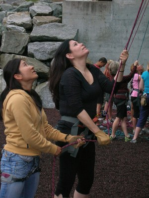 Lead Belay Clinic - Tacoma - 2017