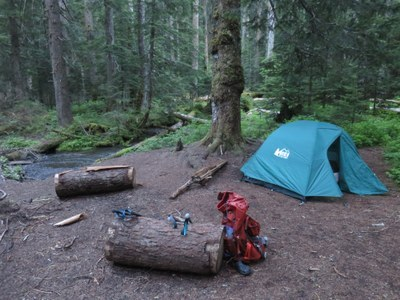 Introduction to Backpacking - Tacoma - 2021