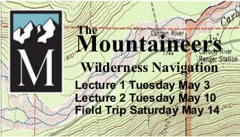 Wilderness Navigation Course Tacoma May 2016