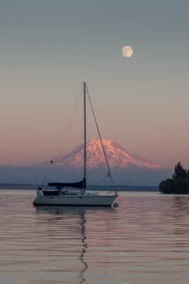 Basic Crewing/Sailing Course  - Tacoma, Experience Sail #4 - Fiddler's Green, Foss Harbor Marina