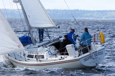 Basic Crewing/Sailing Course  - Tacoma, Training Sail #2 - Silver Breeze, Delin Dock