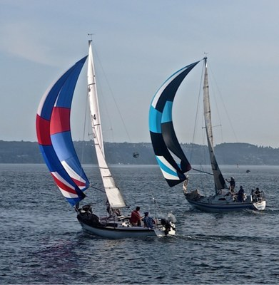 Sailing outing - Tacoma Mountaineers - RETIRED