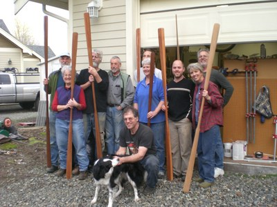 Greenland Paddle Carving Clinic - Mountaineers Tacoma Program Center