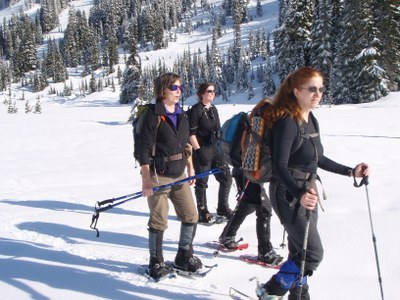 Intermediate Snowshoeing (old) - Field trip