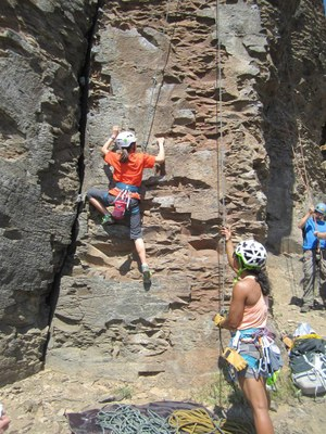 Tacoma Explorers Camping & Climbing Trip - Vantage (Frenchman Coulee)